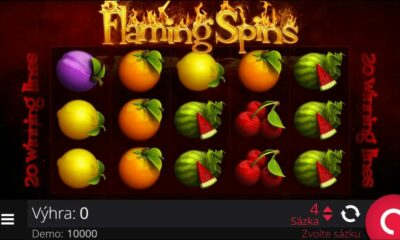Flaming Spins